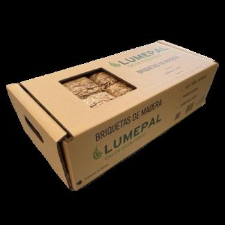 cajas de 12 briquetas